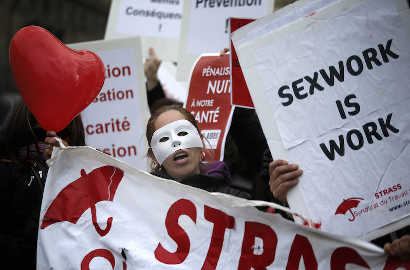 prostitution opposition essay And on any prescribed matters relating to sex workers or prostitution   changes and provide a context for understanding the strength of the opposition to.
