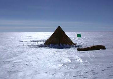 Antarctic Ice Shelf Melting Could Double by 2050