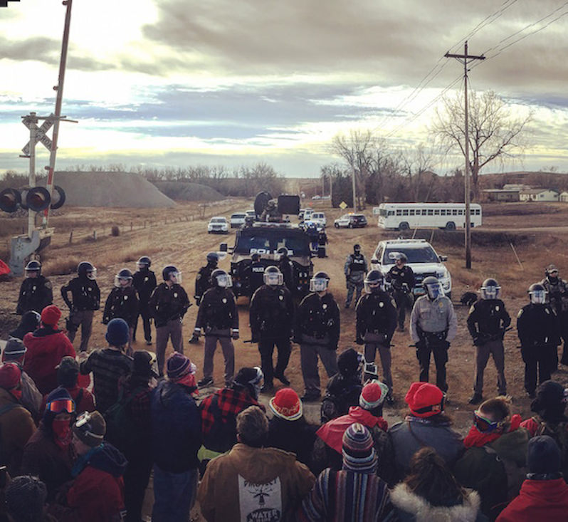 Military-Style Counterterrorism Measures Were Used Against DAPL Protesters, Leaked Documents Show