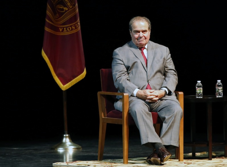 Public Sector Unions Pin Hopes on Antonin Scalia Going Rogue
