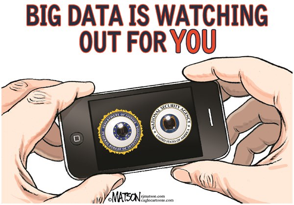 Big Data Is Watching Out for You