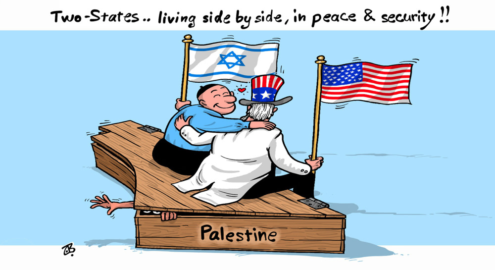 Two States [a cartoon from Jordan]