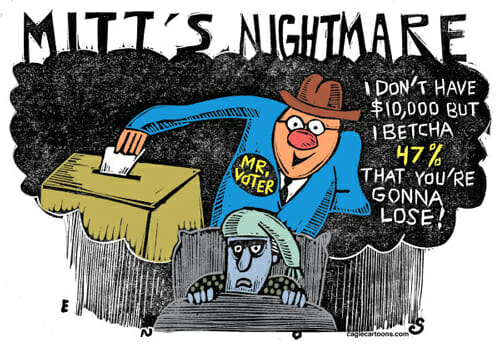 Mitt's Nightmare
