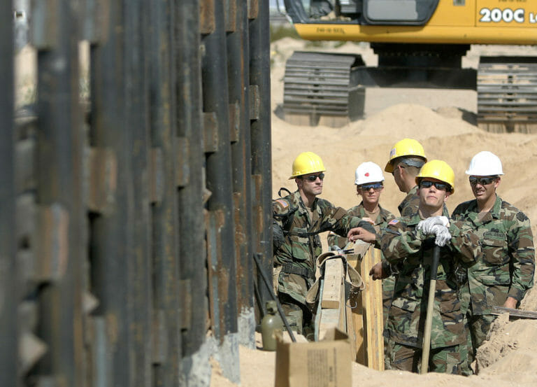 Could Trump Really Militarize the Border?