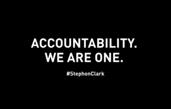 NBA Players Protest Stephon Clark's Killing in Powerful PSA (Video)