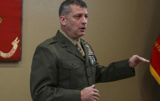 Marine General Overseeing Sexual Assault Allegations Reportedly Calls Them 'Fake News'